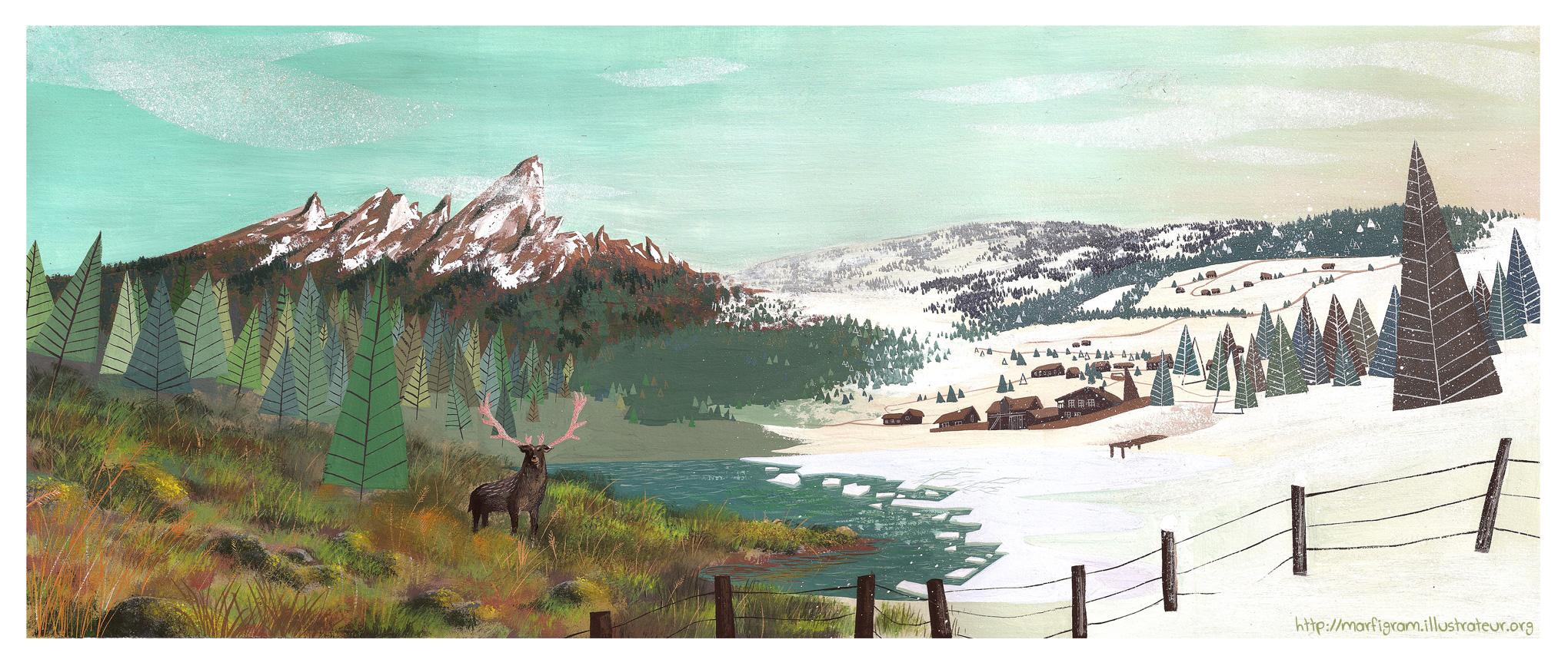 Sweden summer/winter by Marfigram