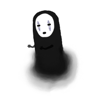 No Face by squidlydes