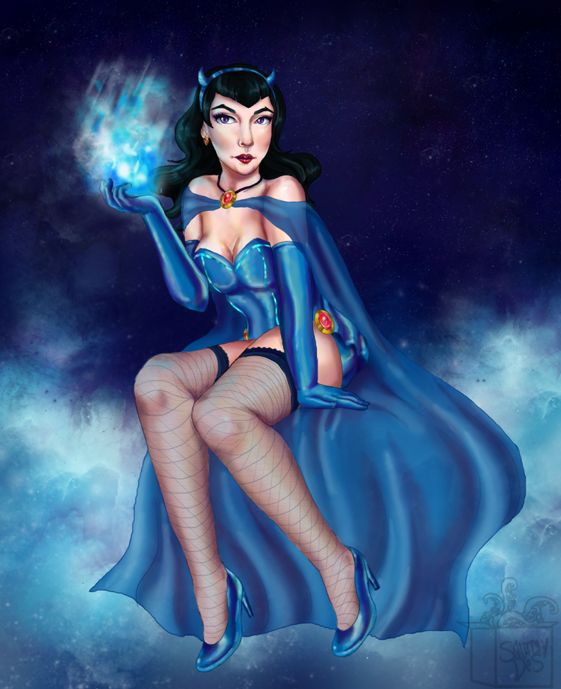 Bombshell Raven by squidlydes