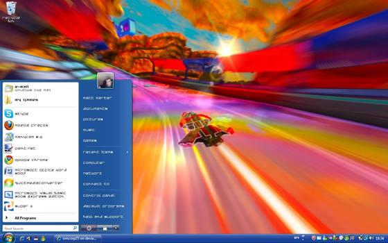 Wip3out HD Fury Style Desktop