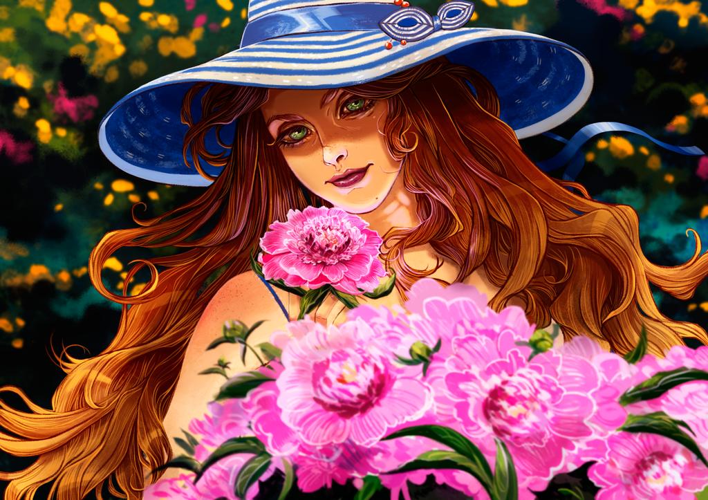 Summergirl by LZinverse
