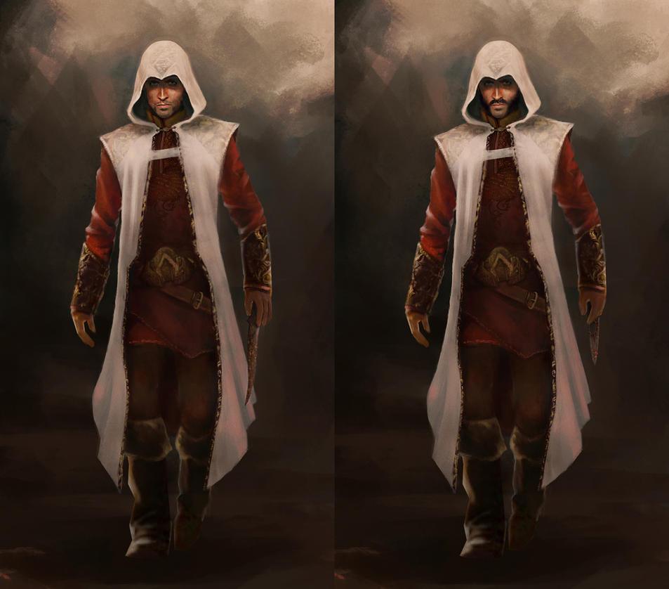 Both Assassins by michaeldaviniart