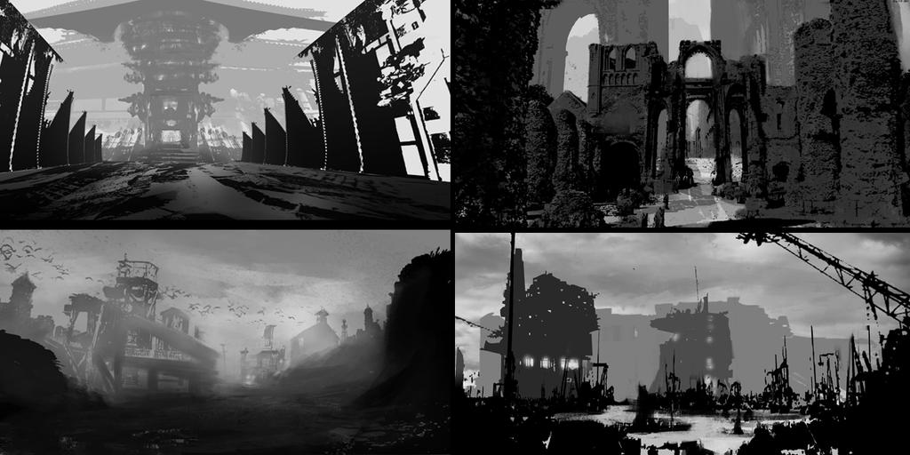 Environment thumbnails by michaeldaviniart