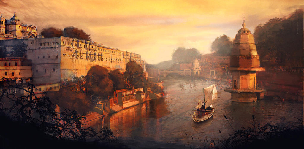 India River by michaeldaviniart