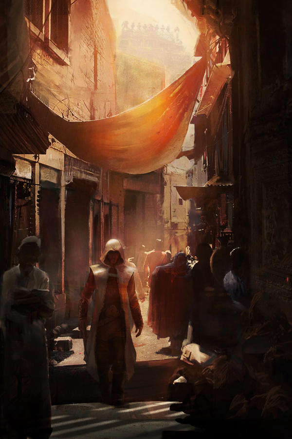 India Alley by michaeldaviniart