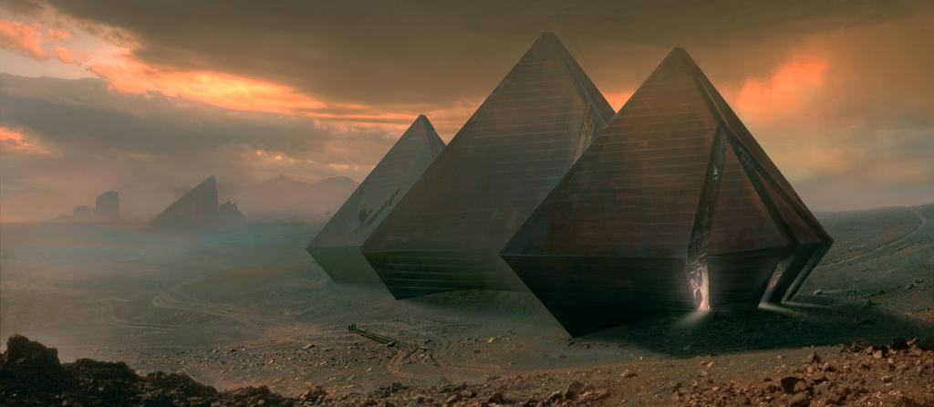 Open ruins ver. 2 by michaeldaviniart