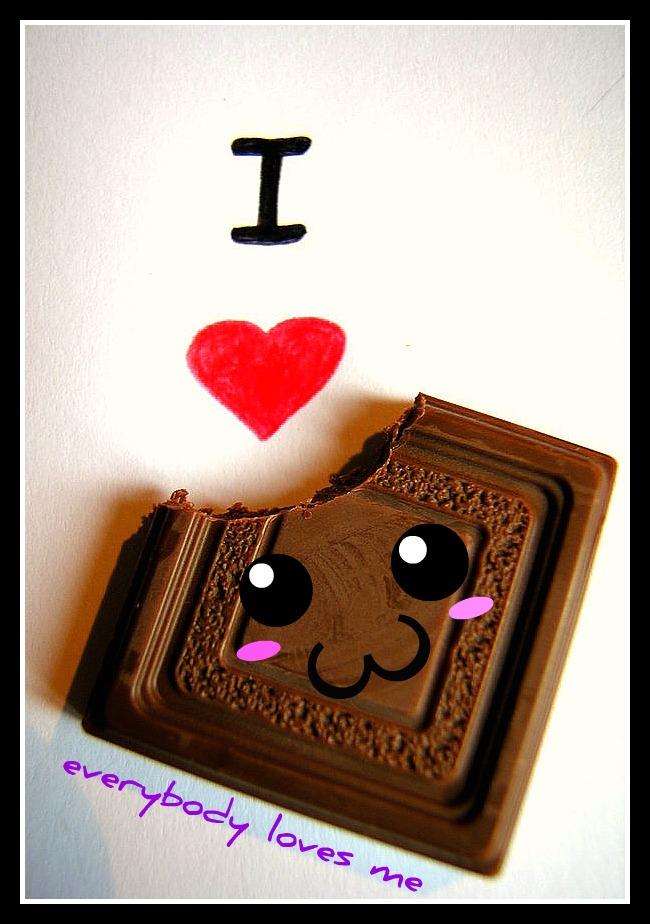 I love chocolate by danibabyrox14 on DeviantArt