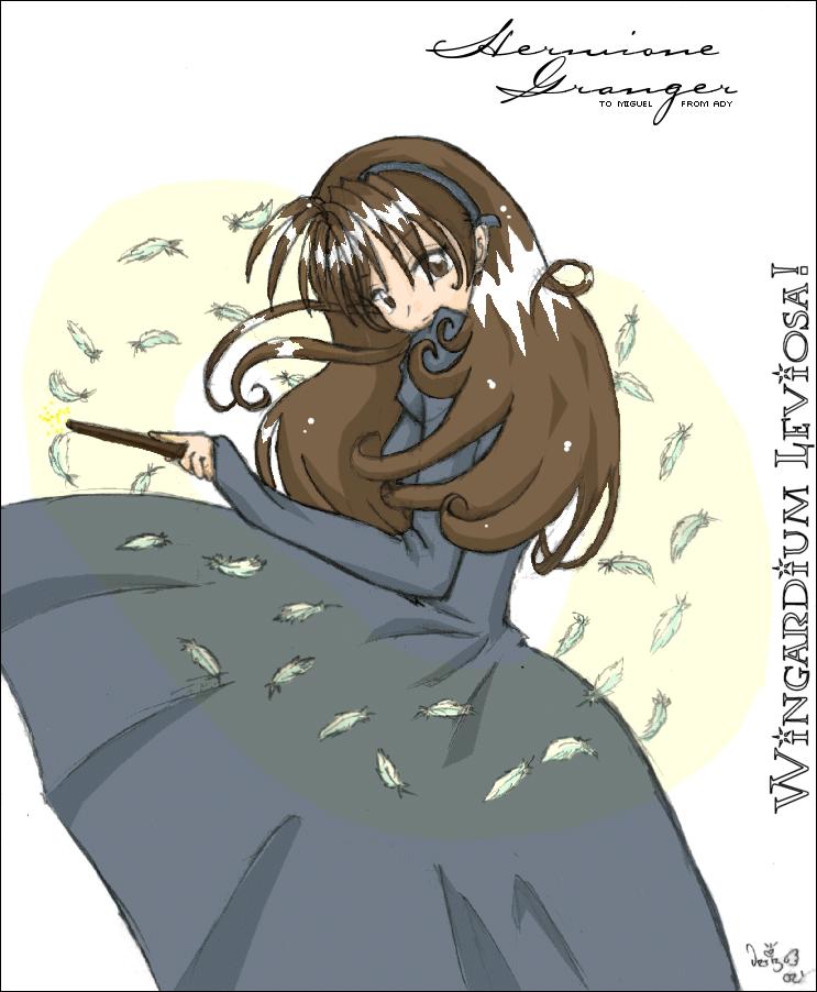 HP: Wingardium Leviosa +old+ by prongsie