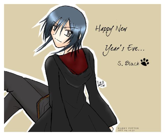 HP: Sirius Greeting Card by prongsie