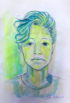 Portrait marker Highlighter