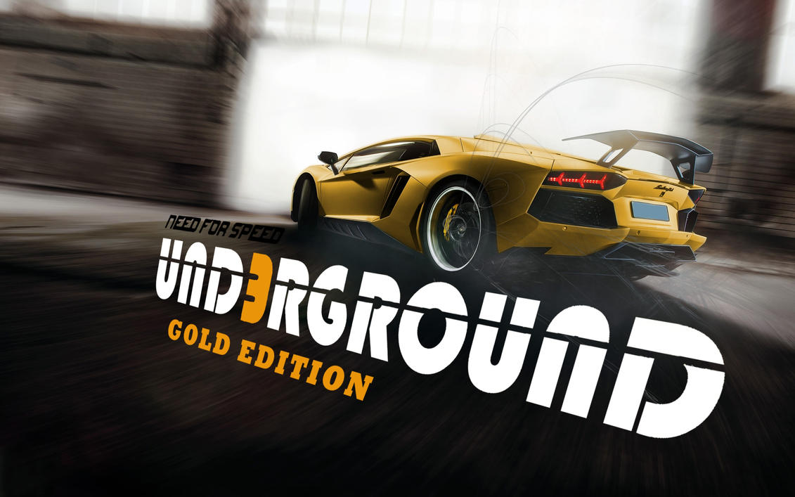 Need for Speed - Underground 3 Gold Edition by jerrymouse95 on DeviantArt