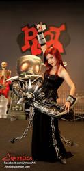 Pentakill Sona Cosplay | League of Legends by Jynxed-Art