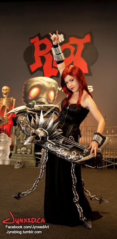 Pentakill Sona Cosplay   League of Legends by Jynxed-Art