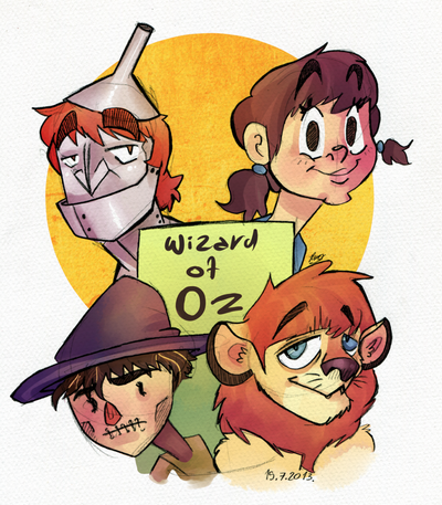 The Beatles- Wizard of Oz by Jim-the-Oni