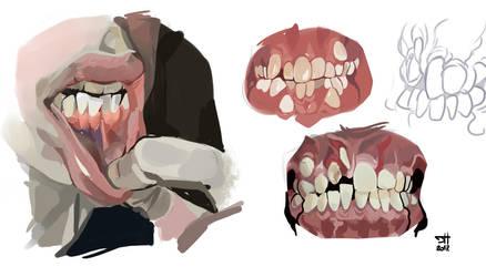 Teeth studies III