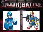 Megaman X vs Captain Gundam (SD Gundam)
