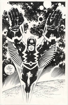 Kirby and Williams Black Bolt
