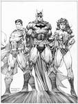 Jim Lee unused Icons cover