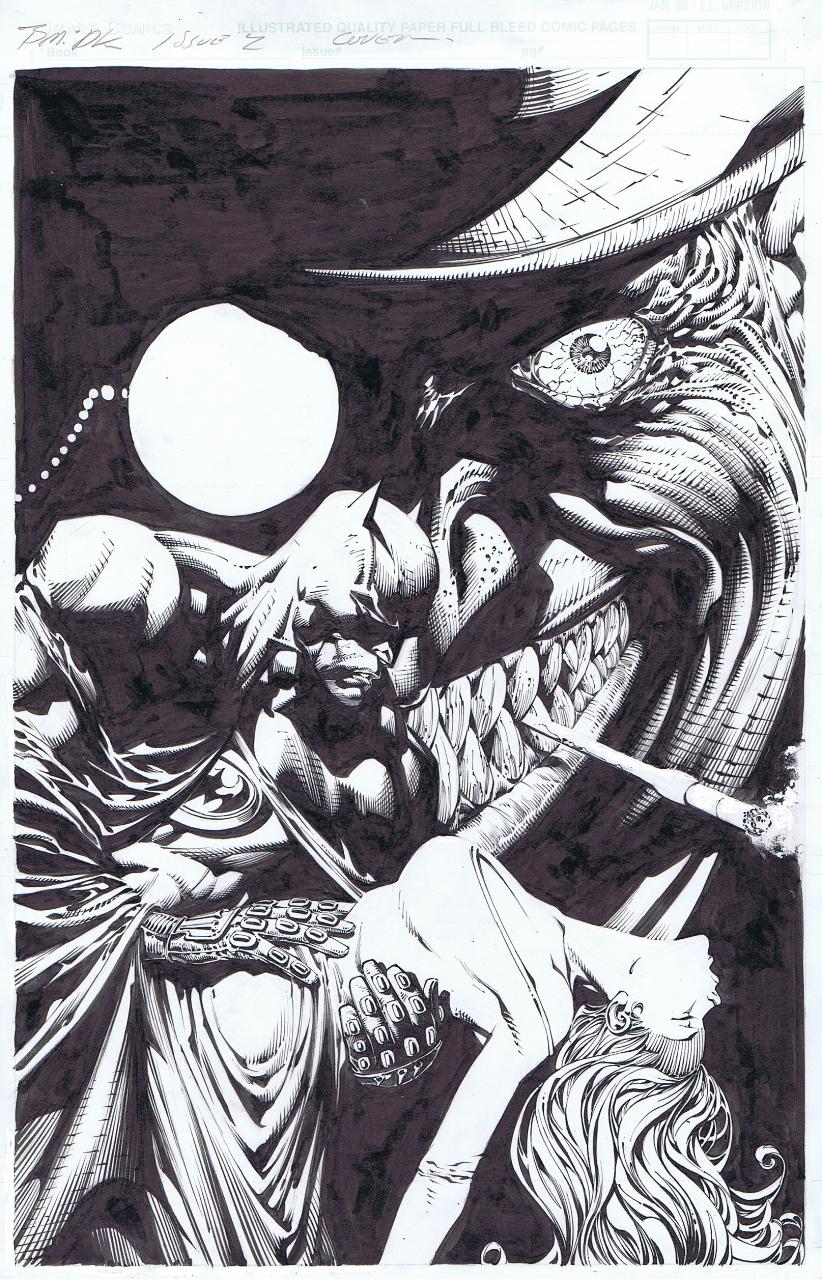 Dark Knight 2 cover by INKIST