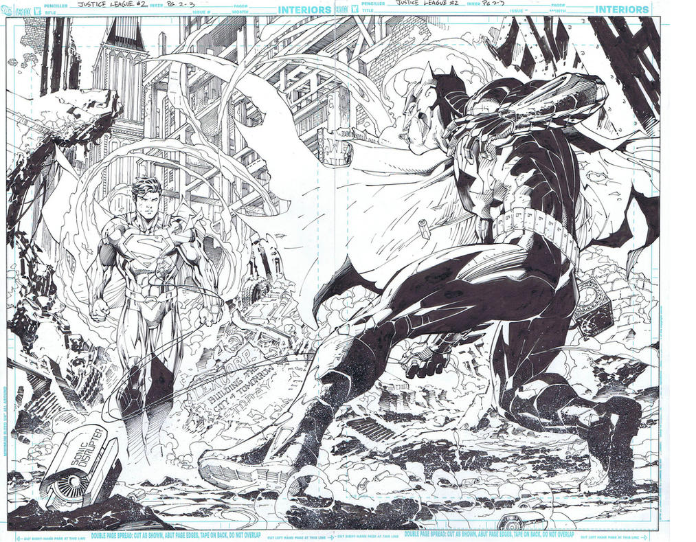 JL 2 Jim Lee Scott Williams by INKIST