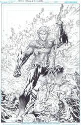 JL 4 Jim Lee Scott Williams by INKIST