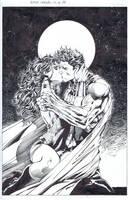 Superman/Wonder Woman-The Kiss by INKIST