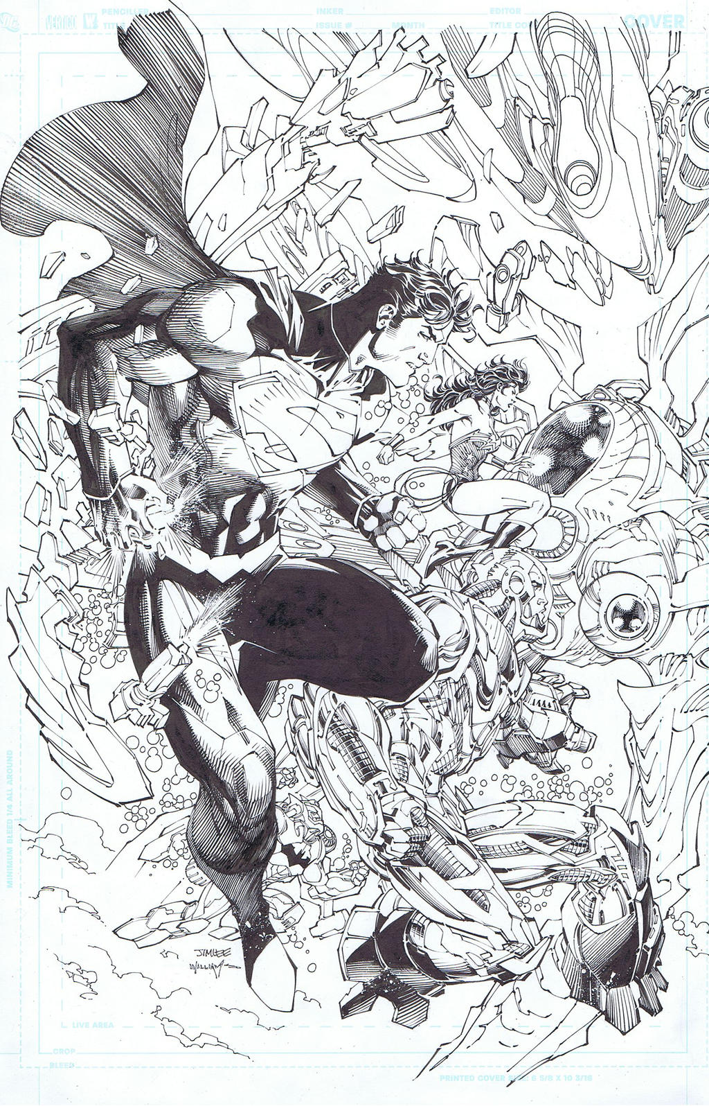 Justice League 15 variant cover