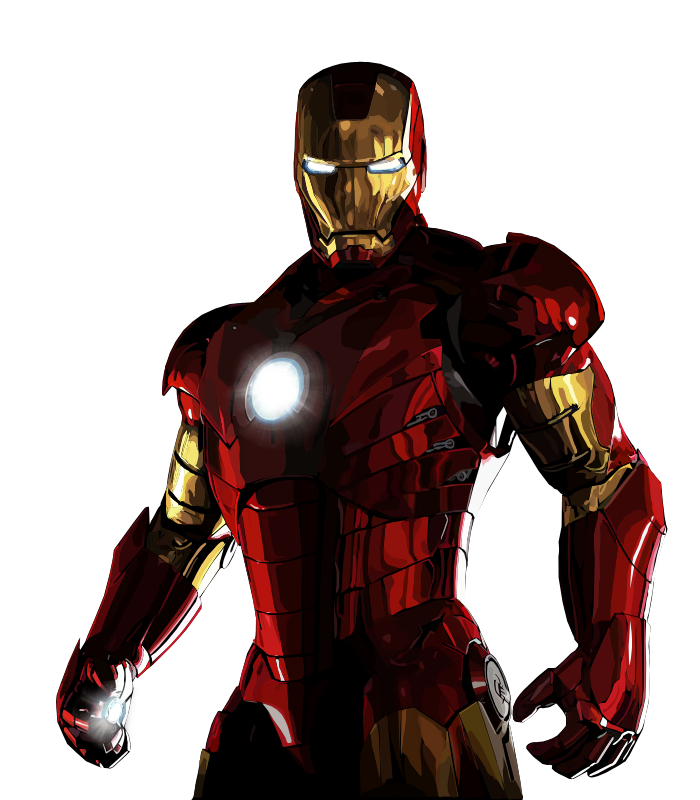 Iron Man Png Ironman vectored raw by Superhero Flying Vector
