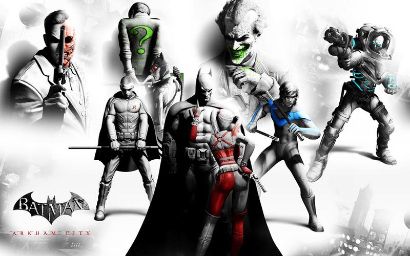 Arkham City Wallpaper By Dante1417