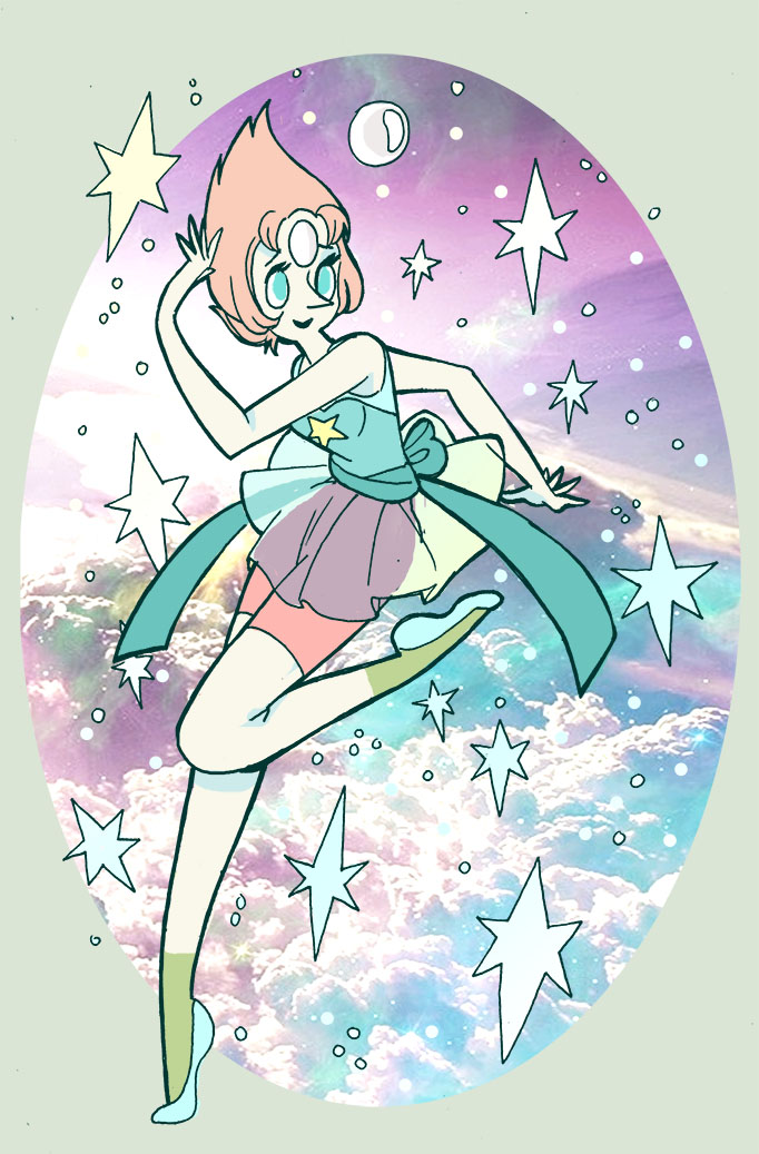 Even more steven universe fan art. I couldn't decide on which of pearls outfits i should draw so i did a little colab. Tumblr Permalink: prism-pixels.tumblr.com/post/9…