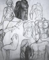 'bodies' Art Dump '16 by PRISM0LLY
