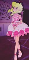 Bandage dress, redraw. by PRISM0LLY