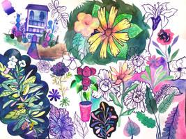 #1 ART DUMP 2017 by PRISM0LLY