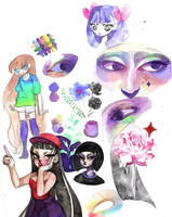 Art Dump 2018 (#3) by PRISM0LLY