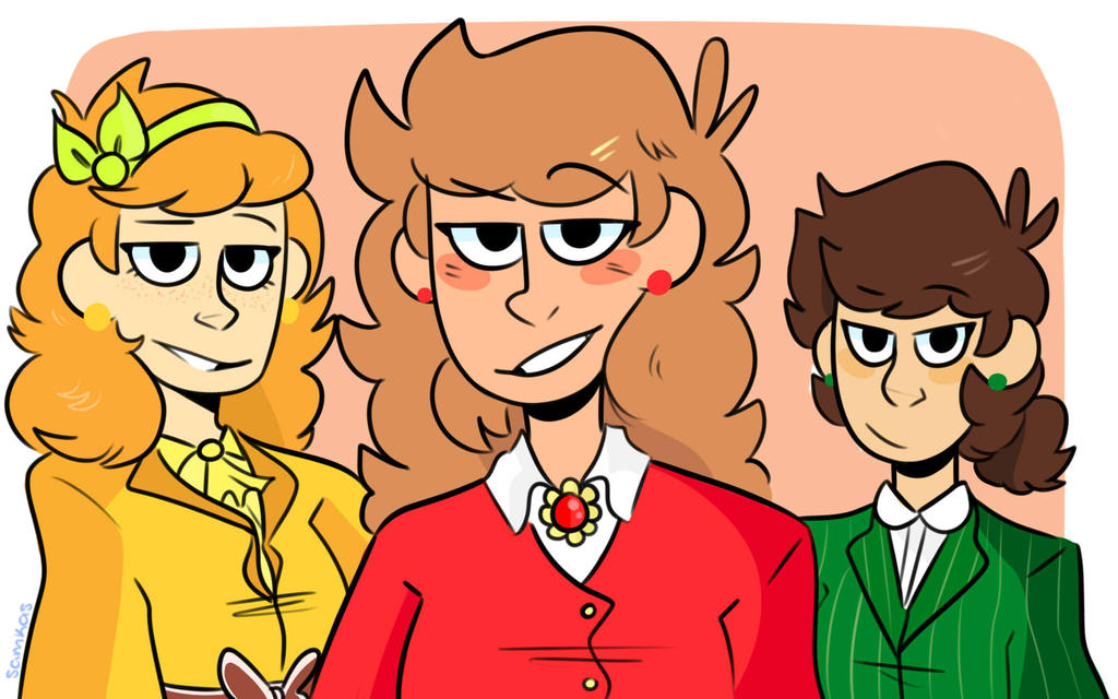 eddsworld heathers au by samssz on deviantart