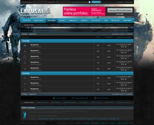 redesign of Labusai.com by ARIUSdesign