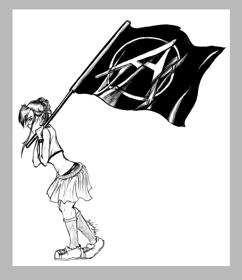 Anarchy girl by gabchik