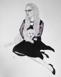 Self Portrait by BellaZarah