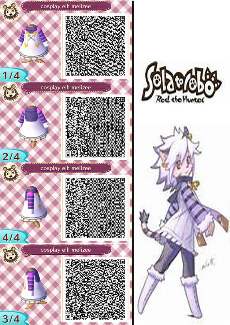 Qr code animal crossing new leaf solatorobo elh by for Floor qr codes new leaf