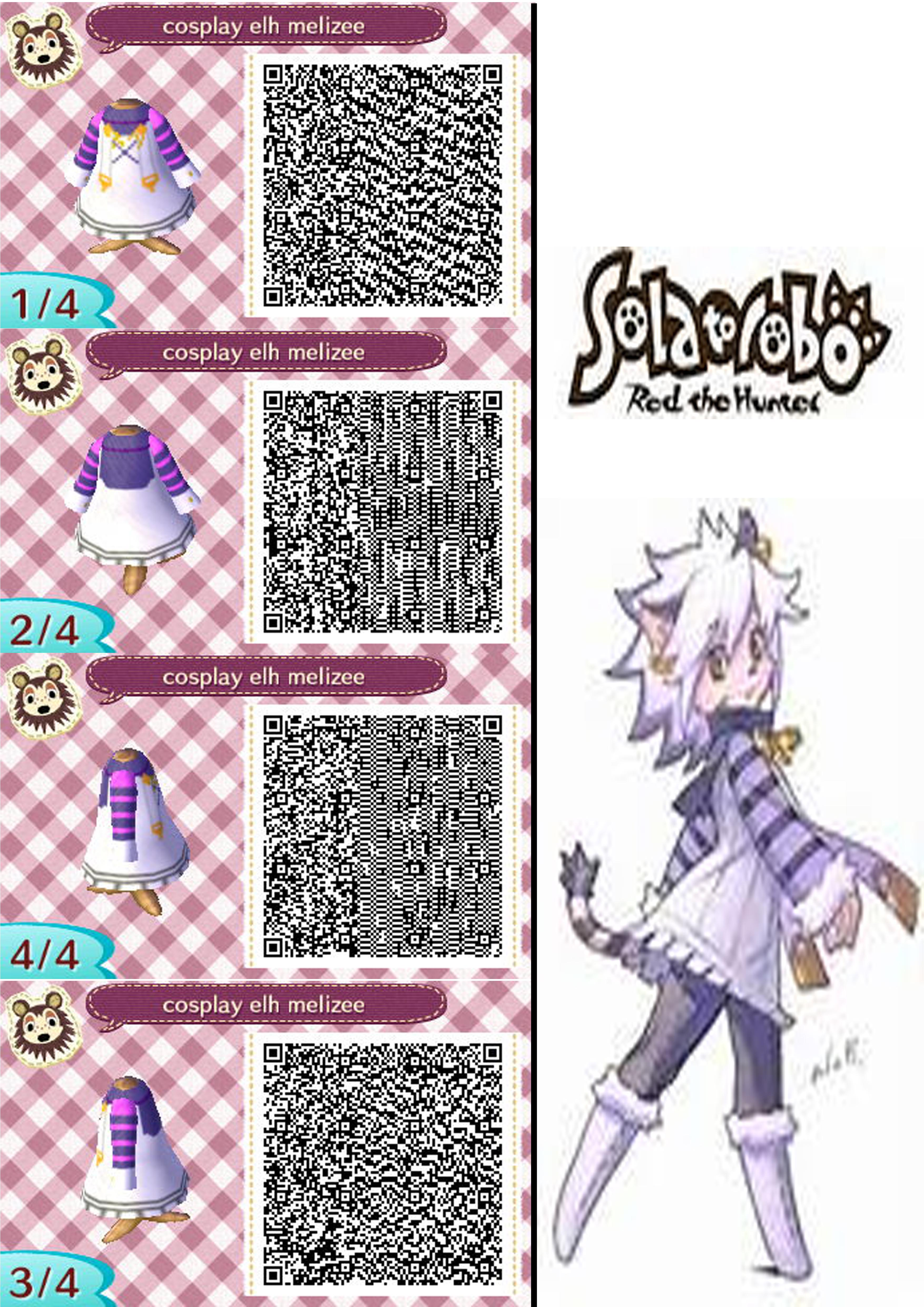 Qr code animal crossing new leaf  SOLATOROBO  elh by lukioyoyoQr Codes Animal Crossing New Leaf Dresses
