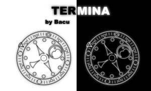 Rainmeter - Termina Clock 1.01