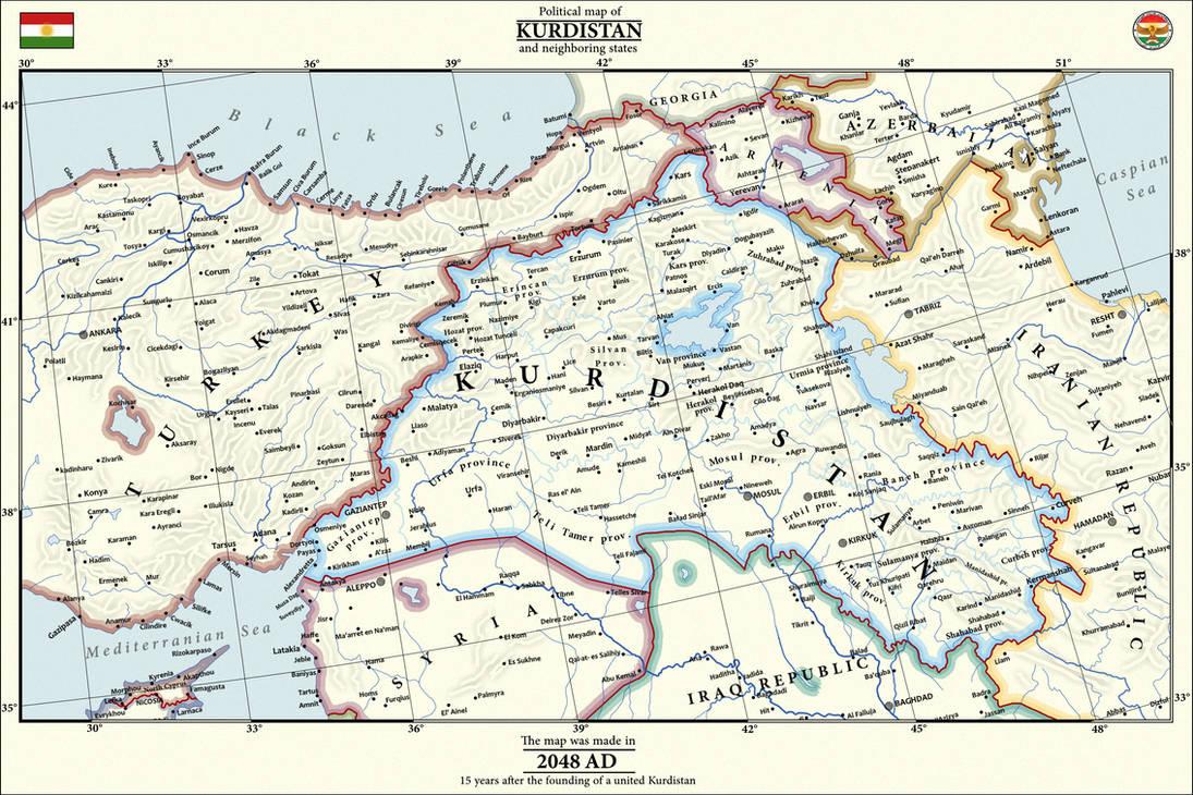 Map of United Kurdistan by IvanZhv on DeviantArt Kurdistan Map on dead sea map, chechnya map, kashmir map, erbil map, kyrgyzstan map, baluchistan map, lebanon map, iraqi kurdistan, uzbekistan map, assyria map, kurdish population map, kurdish language, ukraine map, kurdish jews, turkish kurdistan, iraq map, afghanistan map, iranian kurdistan, halabja poison gas attack, kurdistan province, kurdish people, turkey map, kuwait map, baghdad map, kurdish flag, south ossetia map, palestine map, zagros mountains, persian people, iran map, scotland map,