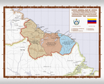 Map of the Socialist Federal Republic of Guiana