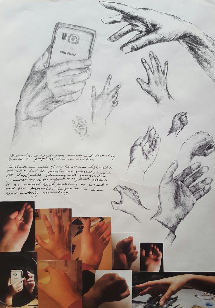 Hand study by fairyn