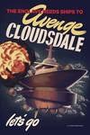 Avenge Cloudsdale Propaganda Poster