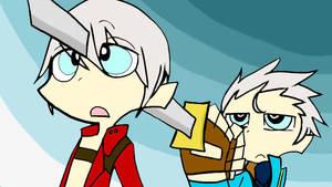 Dante and Vergil...?