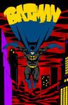 Holy Dark Knight, Batman!! (Batman Colours)