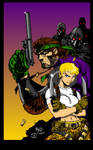 Snake? SNAAAAAAKE!? (Metal Gear Colours)
