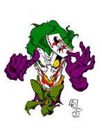 Clown Prince of Chaos (Joker Colours) by Little--Broling