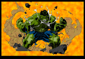 Hulk SMASH!!! (Hulk Colours) by Little--Broling